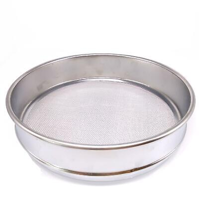 1pc 18 Mesh 1mm Aperture Lab Standard Test Sieve Stainless Steel Dia 200mm