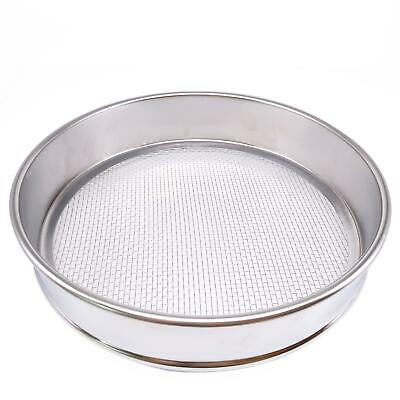 1pc 8 Mesh 2.5mm Aperture Lab Standard Test Sieve Stainless Steel Dia 200mm