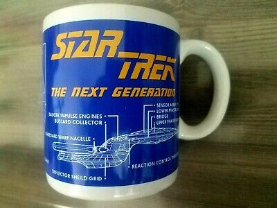 Star Trek The Next Generation Coffee Mug Uss Enterprise Ncc-1701-D