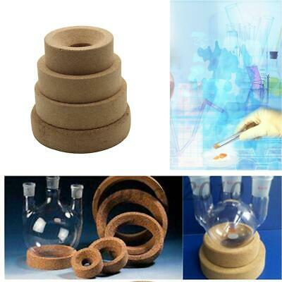 80-120mm Laboratory Lab Cork Stands Holder Ring For Flask 500ml-3000ml US