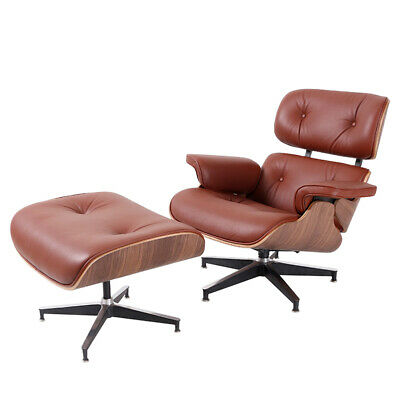Groovy Mid Century Eames Lounge Chair Ottoman Genuine Top Grain Pdpeps Interior Chair Design Pdpepsorg