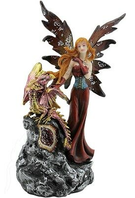 Red Fairy with Dragon Baby - RRP $40.55