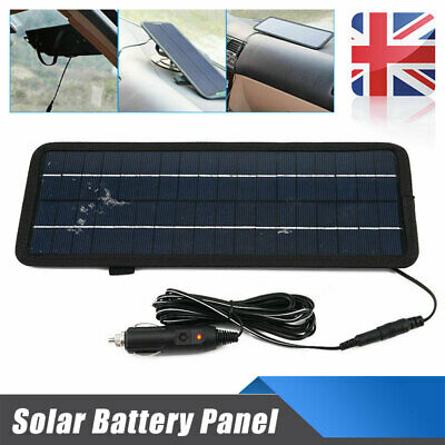 Solar Panel 4.5W 12V Car Boat Yacht Trickle Battery Charger Outdoor Power Supply