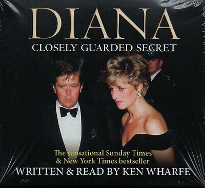 DIANA: CLOSELY GUARDED SECRET - Ken Wharfe - 3xCD Audiobook *NEW & SEALED*