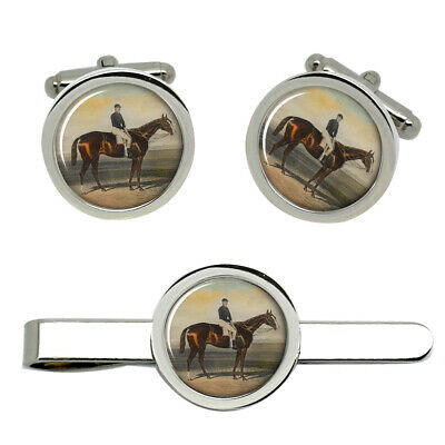 Horse racing Jockey Owner Bookmaker Race Bookie Cufflinks Party Present Gift Box