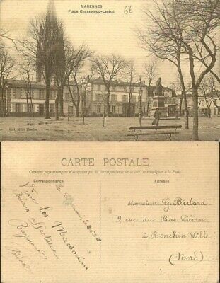[501724] B/TB|| || - France  - (17) Charente Maritime, Marennes, place Chasselou