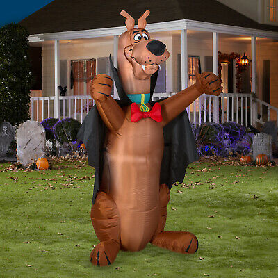 HALLOWEEN AIRBLOWN SCOOBY DOO 5 Ft Outdoor Yard Inflatable Lighted Prop Decor
