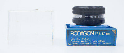 RODENSTOCK RODAGON 50mm F/2.8 ENLARGING LENS