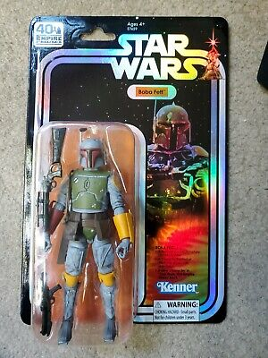 "Star Wars Boba Fett 6"" Black Series Holiday Special Deco Hasbro 40th Ann SDCC19"