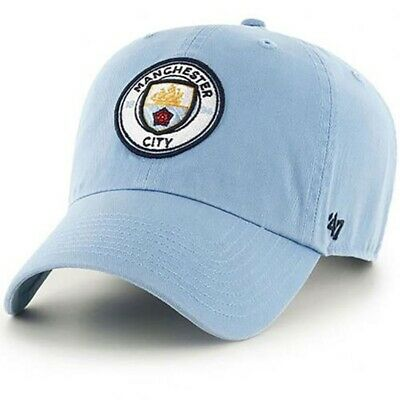 Manchester City F.C - 47 Brand Adult Baseball Cap (CLEAN UP - SK)
