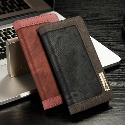 CaseMe Leather Wallet Case Flip Stand Cover for Sony Xperia Xz Premium Xa1 X Xa