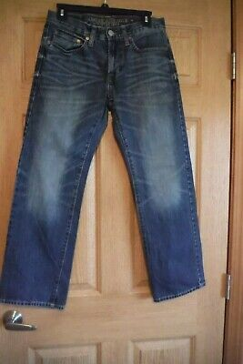 American Eagle Outfitters men's/ Boys 28X28 Classic Boot-cut Jeans, EUC