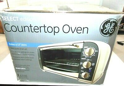 GE Countertop Oven SELECT edition Rotisserie, Bake, Broil, Toast, Keep Warm NIB