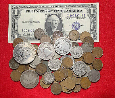 Instant Coin Collection Of Old US Coins!! 73 Pieces! SILVER! Collectible Coins!