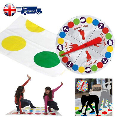 Funny Twister The Classic Game Body Game + 2 More Moves Family Party Games NEW!