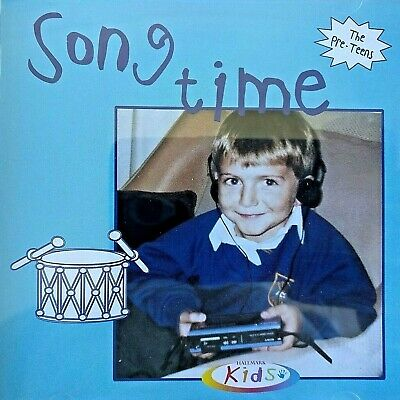 NEW SEALED - SONG TIME  Nursery Rhymes Singalong Songs Children's Music CD Album