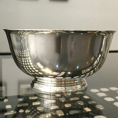 "Tiffany & Co Sterling Silver Paul Revere Bowl 7 5/8"" No Mono   .925 Ag  T&Co."