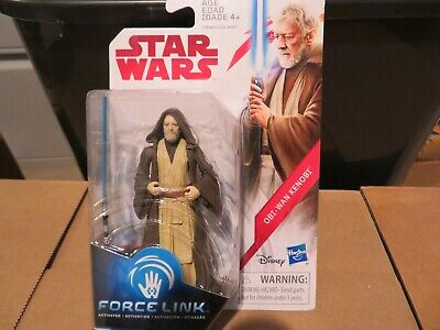 Hasbro Force Link  Star Wars Obi-Wan Ben Konobi Action Figure 2017  MOC