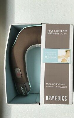 HoMedics Neck and Shoulder Massager + Heat NMSQ-215-2  Battery or AC Powered