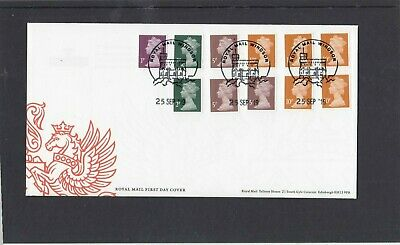 GB 2019 Machin Definitives 1p 2p 5p 10p M19L First Day Cover FDC Windsor pict hs