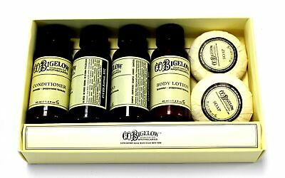C.O.BIGELOW APOTHECARIES Lavender & Peppermint Bath Set / BOXED  - Y99