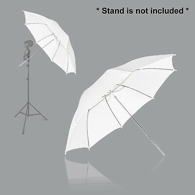 "33"" White / White Translucent Premium Soft Umbrella kits for Photo Video Studio"