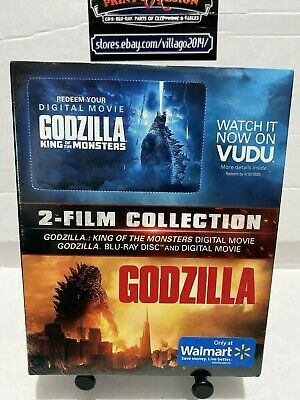 Godzilla King of the Monsters 2-Film Collection Bluray & Digital