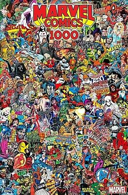 Marvel Comics #1000 Mr. Garcin Collage Variant Cover 2019