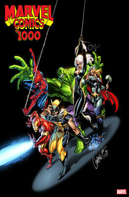 Marvel Comics #1000 J. Scott Campbell Variant Cover 2019