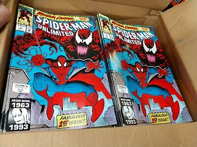 2 SPIDER-MAN UNLIMITED #1 1993 Maximum Carnage New old stock Never Read  shriek