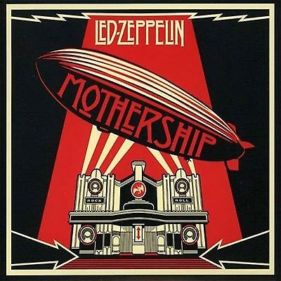 Led Zeppelin - Mothership - 2 Cd Greatest Hits New - Jewel Case Edition - Oop