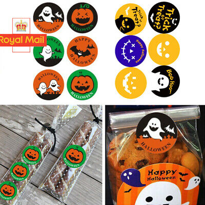 30 x Halloween Stickers Gift party decorations scrapbook Trick or Treat