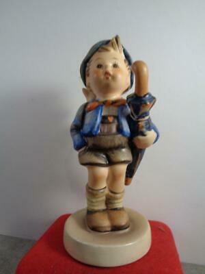 """Goebel Hummel # 198 2/0 """"Home from market"""" 5"""" Tall TMK W Germany Stamped 1948"""