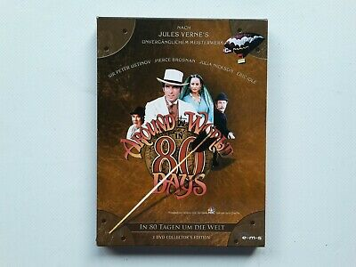 2 DVD BOX In 80 Tagen um die Welt Collektors Edition Jules Verne Pierce Brosnan