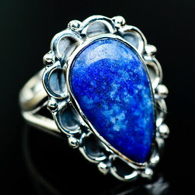 Sodalite 925 Sterling Silver Ring Size 6.5 Ana Co Jewelry R964743