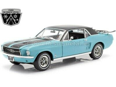 1967 67 Ford Mustang Coupe Ski Land Spezial Selten 1:64 Maßstab Druckguss