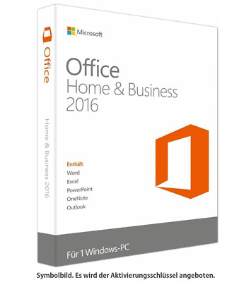 Microsoft Office 2016 Home and Business✔ VOLLVERSION ✔ BLITZVERSAND ✔ DEUTSCH