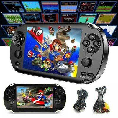 X9 Handheld Video Game Console 128 Bit Built In 1000+Game Kids Player UK POST