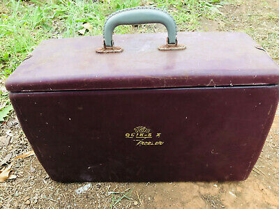 Vintage Rota Metal Retro Esky Freezer Beach Holden Ford Made in Melbourne