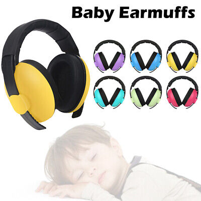 Noise Reduction Safety Earmuffs  Child Hearing Protection Baby Earmuffs