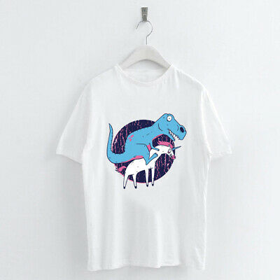 Summer Harajuku Animal Print Women T shirt O-Neck Short Sleeve Dinosaur Alpaca