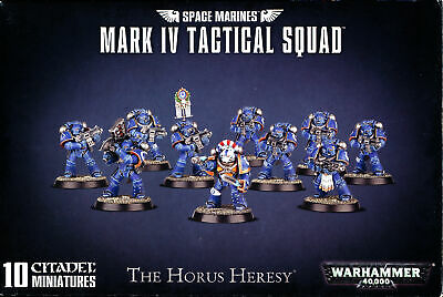 Warhammer 40,000 Space Marines Mark IV Tactical Squad Bits