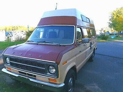 Camper Van Ford Econoline 150,  351 Engine Original Campwagon 1978