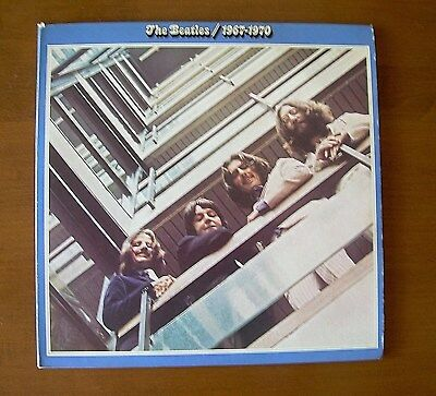 The Beatles / 1967-1970 ~ 1973 Blue Double Album ~ Played Twice, Original Owner