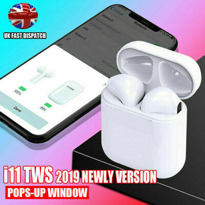 i11 TWS Wireless Bluetooth Airpods Headphones Earbuds Earpod New Touch Control