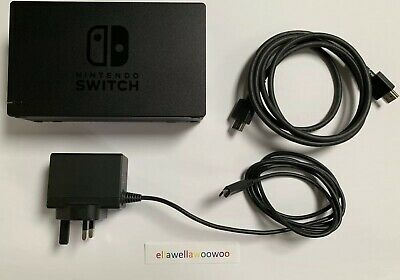 Genuine Official Nintendo Switch TV Dock Set with official Power Supply & HDMI