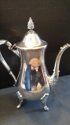 Victorian Coffee pot Silver plate .Sheffield 1836 Great quality Lovely shape