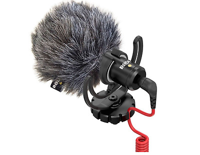 RODE VideoMicro Compact On-Camera Microphone DSLR Blogger Youtuber mic Pro Video