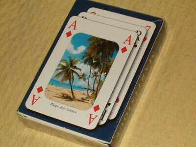 JEU de CARTE 2002 MARTINIQUE publicitaire rhum femme fruit edition grand sud