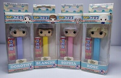 Funko POP Pez The Golden Girls Full Set 4 Blanche Rose Sophia & Dorothy LIMITED